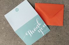 Modern Wedding Invitations by Atheneum Creative via Oh So Beautiful Paper. Photo Credits: Chelsea Davis Photography