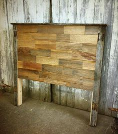 Rustic Reclaimed Barnwood CalKing Size by RusticaINNOVATIONS, $318.00