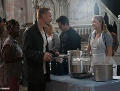 """Ben Daniels, Alfonso Herrera and Hannah Kasulka in the """"Lupus in Fabula"""" episode of THE EXORCIST airing Friday, Sept. 30 on FOX. Get premium, high resolution news photos at Getty Images Ben Daniels, Tv Series 2016, The Exorcist, Fox, Father, Friday, Reading, Books, Fictional Characters"""