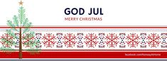 """Put a little #Nordic style on your Facebook page this holiday season. Choose one of our many #Norwegian Facebook covers to warm your page. Instructions included on how to update your page. You're on your own handling jealous """"friends""""! 😉 #Scandinavian #MerryChristmas #GodJul"""