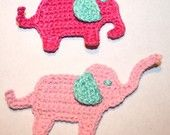 crochet pattern more crochet elephant applique pattern crochet crochet ...