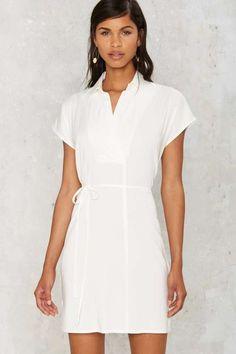 Clean Break Shirt Dress - Sale: Clothes