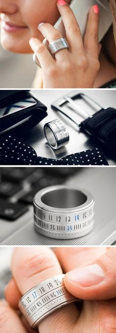The Ring Clock may just be the smallest watch ever seen.