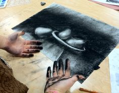 Subtractive Charcoal Drawing                                                                                                                                                     More
