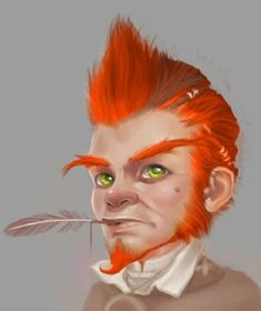 Gnome Portraits — Beamdog Forums Character Concept, Character Art, Character Design, Fantasy Portraits, Character Portraits, Fantasy Races, Fantasy Rpg, Fantasy Illustration, Character Illustration