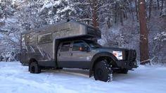 Driving The Luxury Ford EarthRoamer XV-LTS F-550
