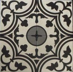 Rio Decortegel gris 20 x 20 cm per stuk
