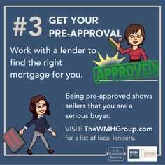 First Time Home Buyer Checklist By The Wmh Group First Time Home