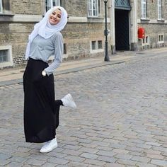 Hijab Fashion | Pinned via Nuriyah O. Martinez |