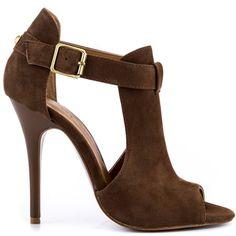 a0b5c6e7eea1 Chinese Laundry heel JOLT LG GRAIN NUBUCK TAN heel (back heel support was  cut off) I did upload the original heel from the website