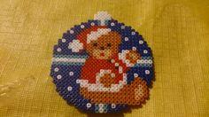 Julepynt Pearler Beads, Fuse Beads, Hama Beads Patterns, Beading Patterns, Christmas Perler Beads, International Craft, Hama Mini, Beading For Kids, Iron Beads