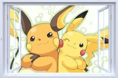 Pikachu Wall Decals – the treasure thrift