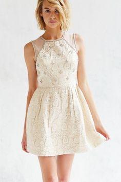 Kimchi Blue Rococo Rhinestone Dress - Urban Outfitters