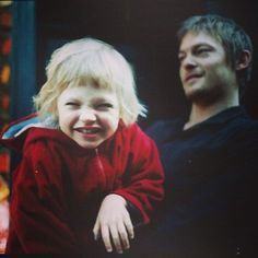 Norman and Mingus...what a cute picture of Mingus! Adorable!