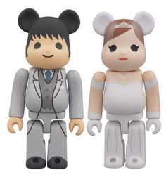 Be@rbrick is a collectible toy designed and produced by the Japanese company MediCom Toy Incorporated. The name is derived from the fact that the figure is a lego-like representation of a bear, and that it is a variation of MediCom's Kubrick design.