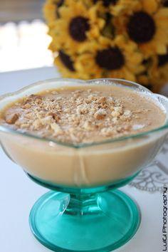 "Delicious dessert, ""baba de camelo"" - Portugal"