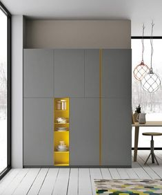 design - Comfortable and Suitable Wardrobe Design for Big & Small Bedroom Wardrobe Door Designs, Wardrobe Design Bedroom, Wardrobe Furniture, Wardrobe Cabinets, Wardrobe Doors, Bedroom Cupboard Designs, Küchen Design, House Design, Dressing Design