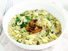Healthy Mushroom Risotto