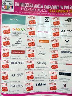 Zniżki Twój Styl kwiecień 2014 - lista i kody