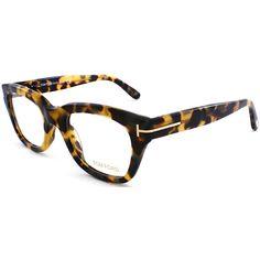 Square Plastic Eyeglasses found on Polyvore featuring polyvore, women's fashion, accessories, eyewear, eyeglasses, vintage havana, plastic glasses, tom ford glasses, plastic eye glasses and tom ford