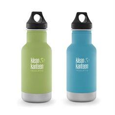 Sippy Cap Trinkflasche Kinder Klean Kanteen Edelstahl BPA FREE farm house ROT
