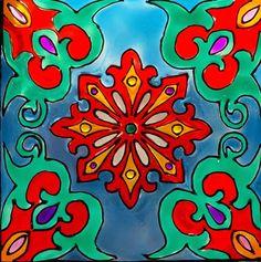 "Andreea Opris on Instagram: ""#stainedglasswindow #windowpainting #windowpaint #azulejos #stainedglass #stainedglasswindows #ajulejosportugueses"" Stained Glass Windows, Symbols, Interiors, Painting, Instagram, Art, Art Background, Stained Glass Panels, Painting Art"