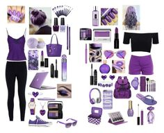 """""""Purple Theme"""" by melbell2630 ❤ liked on Polyvore featuring NIKE, Ermanno Scervino, Eos, Speck, J.Crew, American Apparel, Fendi, Smashbox, Clinique and Sigma Beauty"""