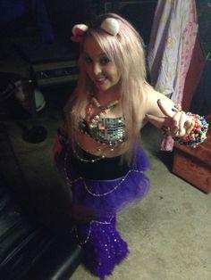 Pretty rave girl