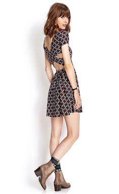 Shop this look here! #SkaterDress #Booties #OOTD