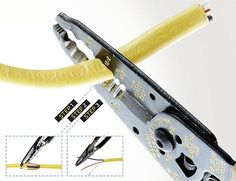 How to strip wire/cable.