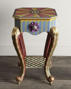 """""""Epaulet""""+Accent+Table+by+MacKenzie-Childs+at+Horchow."""