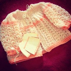 #baby#knit Baby Kids, Knitting, Lace, Tops, Women, Fashion, Tricot, Moda, Breien