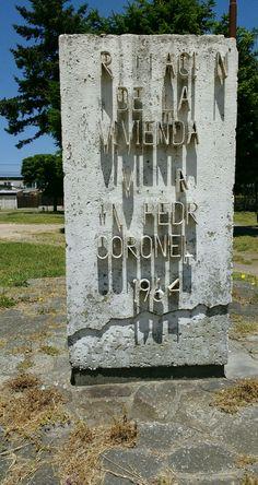 Corporación de la Vivienda CORVI. Villa San Pedro - Coronel 1964. (Comuna de San Pedro de la Paz) Raven, Peace