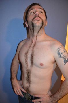 This guy wins Movember