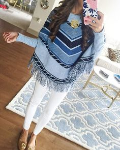 64cfe8831e76b4 Riviera Sweater is now on  flashsaletuesday!  sweater  poncho  outfit  ootd