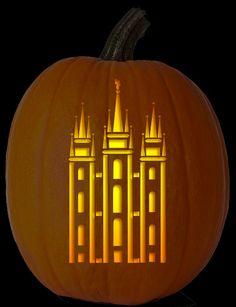 LDS Pumpkin Carvings