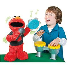 Sesame Street Playskool LET'S ROCK Elmo