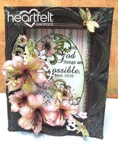 Heartfelt Creations | Pink Lily Decorative Frame