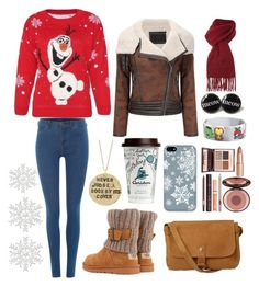 """""""#Winter"""" by ellen2104 ❤ liked on Polyvore featuring Disney, Dr. Denim, Fat Face, Vivienne Westwood, UGG Australia, Charlotte Tilbury and Alisa Michelle"""