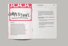 Musicians Union booklet - Graphic Design Inspiration