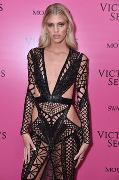 Devon Windsor attends the 2017 Victoria's Secret Fashion Show In Shanghai After Party at Mercedes-Benz Arena on November 20, 2017 in Shanghai, China.