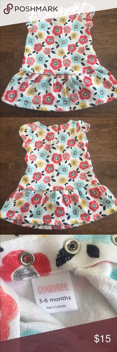 Soft Gymboree dress for 3-6 months. Cotton blend dress is soft and perfect for spring/summer. In like new condition. Gymboree Dresses Casual