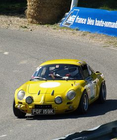 Renault Alpine- it´s a small car.