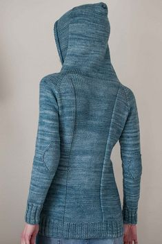 adult version. love this! Ravelry: Well Water Hoodie pattern by Suvi Simola.         Wish I knew someone to make this for me.