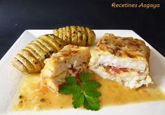 ¡Un plato típico Asturiano....!      Hay recetas que son de toda la vida, que las has comido mucho en una época y que de repente pasan y pas...