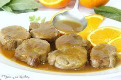 JULIA Y SUS RECETAS: solomillo de cerdo en salsa de naranja Rum, Pot Roast, Shrimp, Chicken, Meat, Ethnic Recipes, Youtube, Blog, Instagram