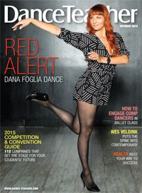 Our October 2015 issue features Dana Foglia, whose Mentorship Program helps aspiring professionals chase their dreams.