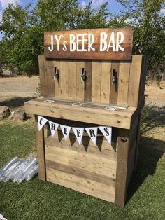 country wedding bar - Google Search