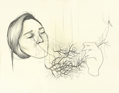 HAEJUNG LEE Fantastic drawings by Toronto based artist Haejung Lee. Her work is beautifully composed and contains a subtle sense of humor that we really appreciate.