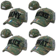 e71b62b8 1 Dozen Rapid Dominance USA Military Law Enforcement Camouflage Cotton Caps  Hats Wholesale